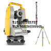 """Brand new design with laser pointer for efficient alignment setting work! Lightweight, compact angular measurement with highprecision laser guidance and up to 30 workdays of power - Long-lasting Li-ion or AA battery life with up to 30 workdays*2 of power • Convenient high-precision laser guidance • Brand new product design utilizing Topcon premium quality total station components • Embedded tilt sensor in 5"""" model • Ultra-rugged IP66 dust and heavy rain protection *1 As of May, 2020 checked with Topcon as theodolite *2 In case of measuring angle with DT-309G/DT-309GL for 8 hours per day Lightweight, compact angular measurement with highprecision laser guidance and up to 30 workdays of power Digital Theodolite Topcon DT-305 Telescope Length : 149 mm Aperture : 45 mm Magnification : 30X Image : Erect Field of view : 1°30' (26 m/1,000 m) Resolving power : 2.5"""" Minimum focus : 0.9 m Stadia ratio : 100 Stadia constant : 0 Angle measurement - Method : Rotary absolute encoder - Detecting : Horizontal: 1 sides Vertical: 1 sides - Minimum display : 1"""" (0.0002 gon/0.01 mil)/ 5"""" (0.001 gon/0.1 mil) (selectable) Display Unit : 2 sides Tilt angle compensation Type : Automatic vertical compensator Range of compensation : ±3' (±0.0555 gon) Compensation constant : Can be changed (compensation is done at the same time with vertical angle 0 point) Optical plummet Magnification : 3X Minimum focus : 0.5 m Sensitivity of levels Circular level : 10' /2 mm Plate level : 30""""/ 2 mm Temperature Operating temperature range : -20 to 50°C (-4 to 122°F)*2 Storage temperature range : -30 to 60°C (-22 to 140°F) (no condensation) Environmental durability Dust and water protection : IP66 (IEC 60529: 2001) Power Supply (Standard) Power source : 4 AA alkaline batteries Working duration at 20°C (Standard) Theodolite only : about 230 hours Laser only : - Theodolite and laser : - Power Supply (Option) Power source : BDC71 (Optional accessory) Working duration at 20°C (Option) Theodolite only : about 300 """